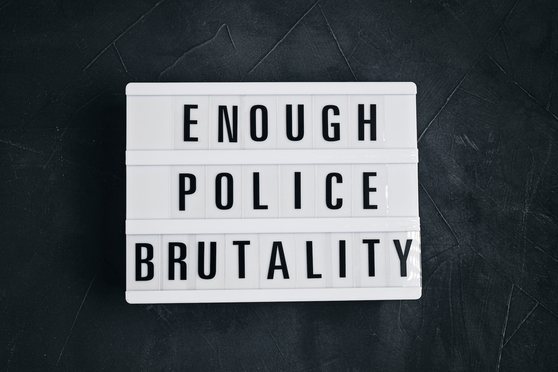 enough police brutality - Personal Injury Attorney in Nashville - Wrongful Death Attorney, Truck Accident Lawyer, Car Accident Lawyer, and more | Meyers Injury Law