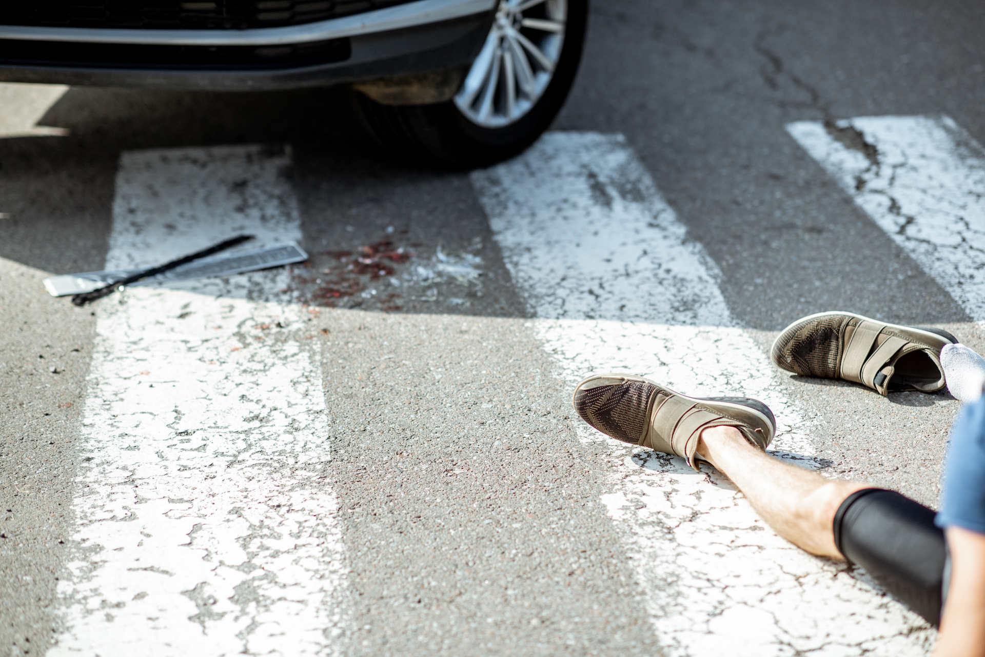 road accident with injured man - Personal Injury Attorney in Nashville - Wrongful Death Attorney, Truck Accident Lawyer, Car Accident Lawyer, and more | Meyers Injury Law